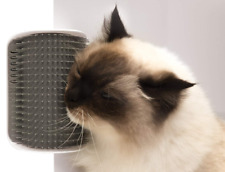 Cat Self-Massage Grooming Brush Hair Removal Comb Hair Shedding Trimming Tool