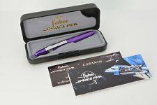 Fisher Space Bullet lila/purple selten Kugelschreiber, rare ballpoint pen