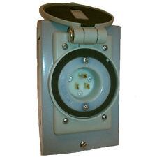 Reliance Controls 15-Amp Power Inlet Box w/ Flip-Lid