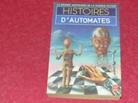 [BIBLIOTHEQUE H. & P.-J. OSWALD] HISTOIRES D'AUTOMATES COLL.GASF SF 1984 EO