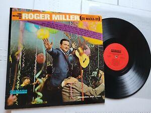 ROGER MILLER - The Return Of Roger Miller 1965 MONO Country (LP) Smash