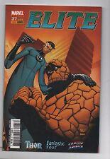 ELITE n°37 - MARVEL France Panini Comics - 2004. Thor, Fantastic Four...