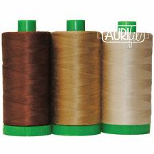 Thread Auriful ~ Color Builder Trio ~ Pangolin Brown ~ 3 Spools