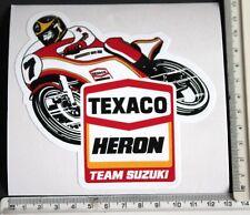 Texaco Heron Team Suzuki sticker    4
