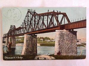 Canada~Cornwall Ontario~Ottawa & New York Railway Bridge~North channel~truss