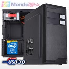PC Computer Desktop Intel i5 7400 3,00 Ghz QUAD CORE - ASRock H110M-HDV