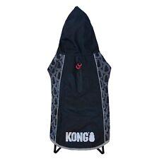 Kong Elements Packable Dog Rain Jacket Size Large Black ~ New ~ Free Shipping