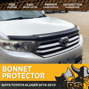 Bonnet Protector to suit Toyota Kluger 2010-2013 Tinted Guard