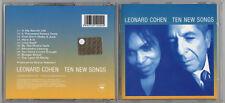 LEONARD COHEN LIVE - Ten New Songs ( CD 2001 )