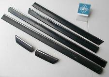 84 BMW 528e Left Right Door Molding Trim Set 6pcs 51131871696 51131871695 E28295