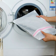 40/5060CM Laundry Bag Zipped Washing Mesh Net Wash Bag WASHING MACHINE BAG UK
