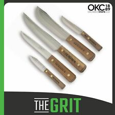Old Hickory Knife Set by Ontario Knife Co 7180 Home Kitchen 5 Piece Cutlery Set