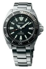 Seiko Black Samurai 200M Diver's Men's Watch