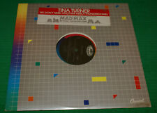 "Tina Turner ‎– We Don't Need Another Hero (Thunderdome) Single 12"" Lp Record"