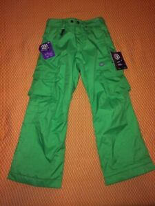 NWT 686 Girl's Smarty Olivia Cargo Pants 3-in-1, Slime, Medium for Age 10/12