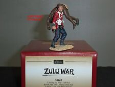 BRITAINS 20163 ZULU WAR CLEARING THE YARD BRITISH 24TH FOOT CARRYING WARRIOR SET