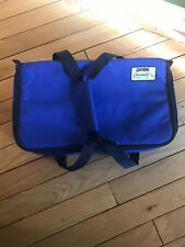 "Pyrex Portables The Way To Go Blue Insulated Carry Bag 13"" x 11"" x 3.5"""