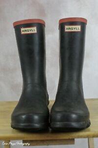 Argyll by Hunter mens short wellington boots Uk 9