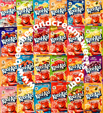 KOOL-AID 10 SACHETS YOU CHOOSE FLAVOURS CHERRY, BERRY, ORANGE AMERICAN IMPORT