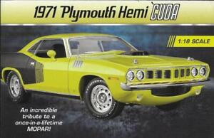 "2021 DANBURY MINT BROCHURE for NEW RELEASE 1:18 ""1971 PLYMOUTH HEMI 'CUDA"""