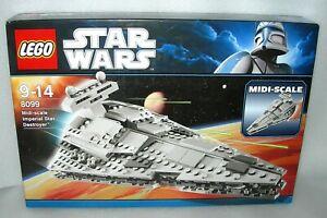 Lego Star Wars 8099 Midi Scale Imperial Star Destroyer - NISWB
