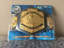 2001 WWF Jakks Pacific Light Heavy Weight Champion Belt Sealed RARE WWE