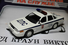1:43 Ford Crown Victoria Police Moscow + Magazine #58