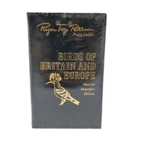 Easton Press Birds of Britain and Europe Roger Tory Peterson Field Guides Sealed