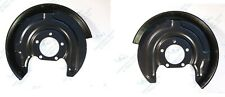 For Audi A6 Skoda Superb VW 2x Rear Brake Disc Dust Cover Back Plate Shield Pair