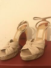 NEW Salvatore Ferragamo Womens Wedge Shoes Size 8