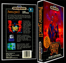 Phantasy Star 2 - Sega Genesis Reproduction Art Case/Box No Game.