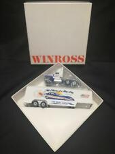 Winross Adap auto Palace Al and Ellen Hannah truck race hauler Trailer truck Nib