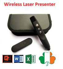 USB Wireless RF Remote Control Power Point Laser Presenter PPT for PC Laptop