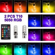 Remote Control T10 5050 Car Led Bulb 6 SMD Multicolor W5W 501 Side Light Lamp