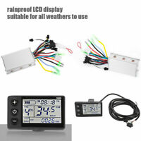 250/350W 24-48V Electric Scooter Bike Brushless Motor Controller LCD Display Kit