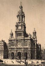 France Religious Postcard