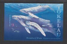 Tokelau - 1997, Humpback Whales sheet - MNH - SG MS263