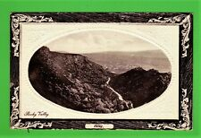 Two postcards Rocky Valley and Cow and Calf, lkley, Yorkshire, one dated 1914