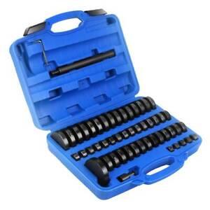 Buchsen Werkzeug Druckstück Montagescheiben Treibsatz Lager Schalen 52-tlg