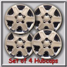 "2010-2011 16"" Dodge Journey Chrome Bolt On Hubcaps, Wheel Covers Set of 4"