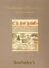 Sotheby's Books & Manuscripts Auction Catalog 12/11/08