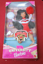 AFRICAN AMERICAN MARYLAND UNIVERSITY SPECIAL ADDITION BARBIE NIB RARE