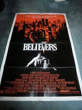 THE BELIEVERS(1987)MARTIN SHEEN ORIGINAL ONE SHEET POSTER
