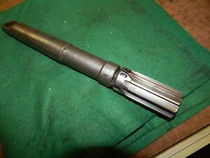 """Cleveland HSS 1.375"""" Shell Reamer and No. 8 Arbor #4 Morse Taper"""