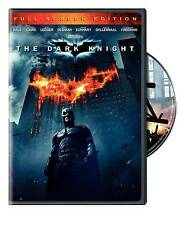 The Dark Knight (DVD, 2008, Full Frame)