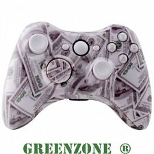 $100 Dollar Custom Replacement Xbox 360 Controller Shell + Buttons Mod Kit