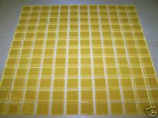 """Crystal Glass Tiles Mosaic Kitchen Bathroom Wall: Gold  - 4""""x4"""" sample size"""