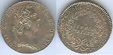 Jeton royal - Louis XV protecteur académie française argent / silver 9gr d=30