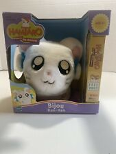 "Hamtaro-Bijou Ham-Ham-6""-2002-Plus h-Hasbro-Vintage New. Vhs Included"