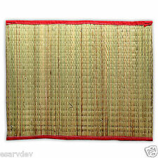 "Hand Made Kusha Aasan or Darbha Mat For Rituals and Meditations size 16""x20"""